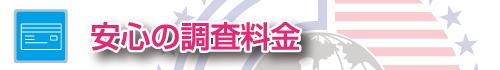 探偵・ガル新橋の安心調査料金
